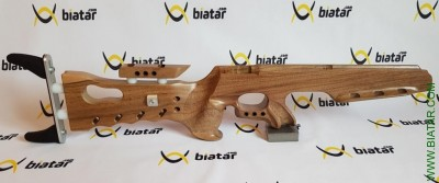 BIATHLON RIFLE STOCK RS-4 Anschütz or Izhmash. Maple or walnut. Long magazines fit. Choice of Butt Plate.